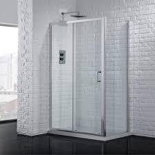 Sliding Shower Door 1200 Aquadart Venturi 6 Sliding Shower Door 1200 Aq9325s Aq9325s