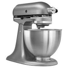 kitchenaid mixer black kitchenaid classic 4 5 qt stand mixer ksm75 target
