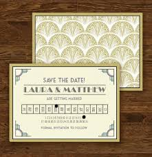 wordings white and gold art deco wedding invitations also cheap