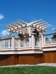 Deck With Pergola by Deck Builders In Toronto Building Stunning Decks In The Toronto Area