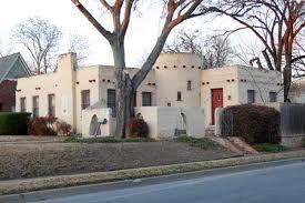 pueblo style architecture ken lton m streets dallas real estate