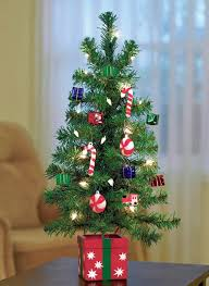 table top tree gold pink blue decorations tree