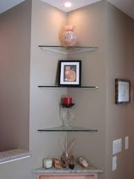 shelves wonderful black glass shelves wall mounted double uk