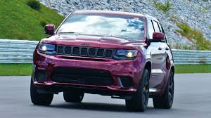 purple jeep cherokee how jeep made the grand cherokee trackhawk strong enough to survive