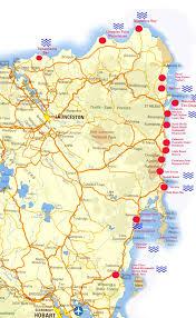 Map Of West Coast Map East Coast Tasmania U2013 Buua