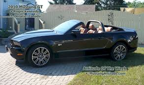 2010 Black Ford Mustang Black 2010 Ford Mustang Gt Convertible Mustangattitude Com Photo