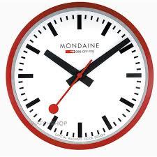 mondaine swiss railways wall clock a990 clock 11sbc watch shop
