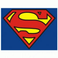 3 colors superman logo brands download vector