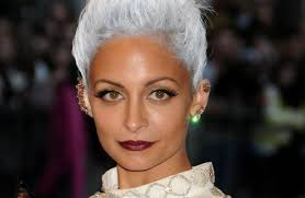 gray hair streaked bith black hair story best celebrity hair 2013 un ruly