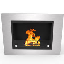 regal flame venice recessed wall mounted ethanol fireplace