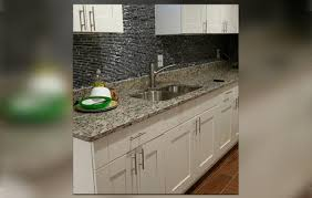 light granite countertops with white cabinets kitchen bath and exteriors gallery stone cabinets