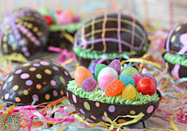candy filled easter eggs brownie filled chocolate easter eggs oh nuts
