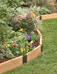 Raised Flower Bed Corners - raised beds as landscaping instead of shrubs pinestraw etc