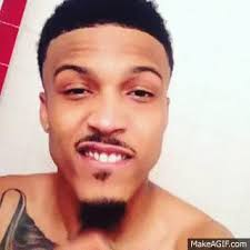 what kind of haircut does august alsina have august alsina gif find share on giphy