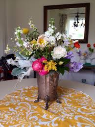 day 7 of decorating with flowers the dining table flowers for