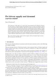 quotation format manpower supply do labour supply and demand curves exist pdf download available