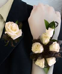 black and white corsage corsages boutonnieres in pahrump nv at something special