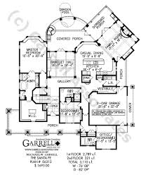 southwest floor plans santa fe house plan house plans by garrell associates inc