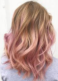 blonde and burgundy hairstyles 65 rose gold hair color ideas for 2017 rose gold hair tips