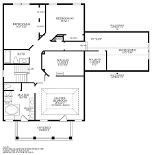 Wilson Parker Homes Floor Plans by Lenah Mill The Villages The Parker Home Design