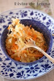 cuisiner la choucroute recette de salade de choucroute crue la recette facile