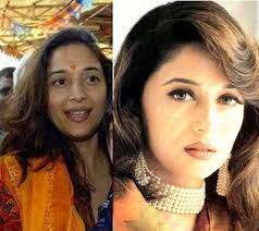 see madhuri dixit without makeup top 10 pictures