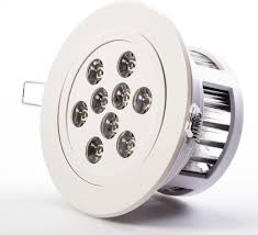 Led Recessed Lighting Fixtures Great 9 Watt Led Recessed Light Fixture Aimable And Dimmable With