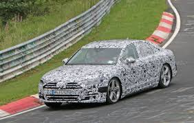spied 2018 audi a8 tests at the nurburgring fourtitude com