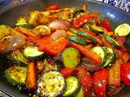 mediterrane küche rezepte mediterran mariniertes gemüse rezept mit bild entencurry