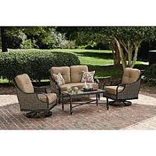 Patio Chairs With Ottoman Outdoor Ottomans Patio Ottomans Sears