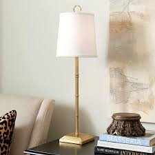 Buffet Lamps With Black Shades by Evreux Buffet Lamp In Gold And Black