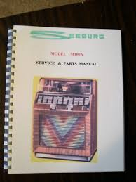 seeburg model m100a jukebox manual u2022 39 99 picclick