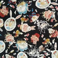 rabbit material 145 100cm in rabbit poplin cotton sewing fabric
