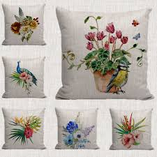 compare prices on decorative throw peacock pillow online shopping