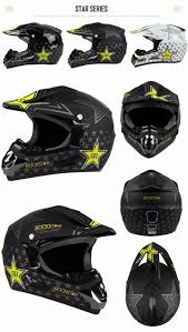motocross bike helmets rockstar motorcycle helmet atv dirt bike downhill cross cap gives
