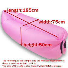 lounger fast inflatable sofa outdoor air sleep sofa couch portable