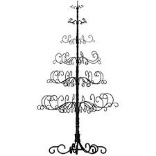 patch magic 10 wrought iron black x tree with 6