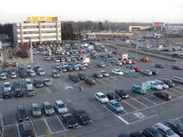 ikea parking lot trm civil design viability and signage of parking lot ikea