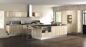 cuisine moderne bois clair modele de cuisine en bois moderne meuble design cuisines newsindo co