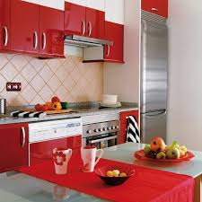 Modern Kitchen Designs For Small Spaces 50 Plus 25 Contemporary Kitchen Design Ideas Red Kitchen Cabinets