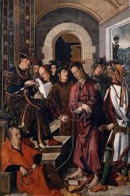 imagenes de jesus ante pilato cristo ante pilato de francisco de osona y rodrigo de osona mc 15