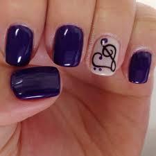 heart music note gel nail art design the nail lounge miramar nail