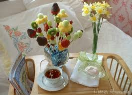 how to make edible fruit arrangement s day breakfast in bed hoosier