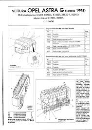 service manual opel astra g 1998 schema elettrico documents