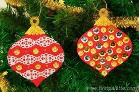 tree ornament craft template chrismas 2017