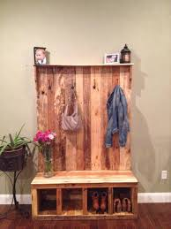 Furniture For Entryway Pallet Entryway Bench Storage Bench 101 Pallets