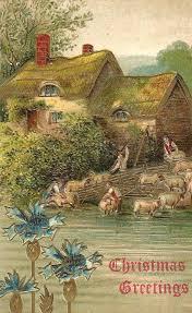 375 best christmas cards vi vintage images on pinterest