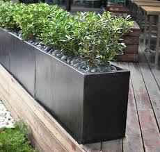 planters extraordinary metal planter boxes galvanized planter