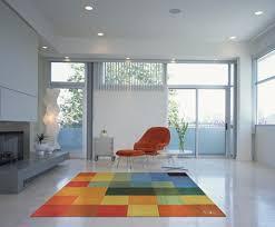 Modern Square Rug Interior Design Home Accessories Rugs Carpet Flooring