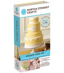 cricut martha stewart crafts shape cartridge elegant cakes joann